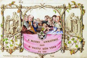 Kartu Natal Pertama yang Dicetak Komersial Dijual 25 Ribu Dolar