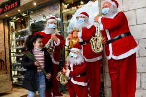 Akibat Pandemi, Tak Ada Perayaan Natal Bagi Wisatawan di Bethlehem