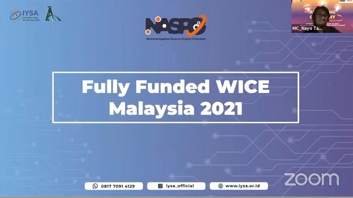 Pendanaan untuk World Invention Competition and Exhibition 2021