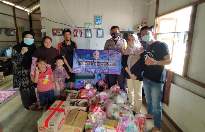 Ika Rolas 89 Ajak Bantu Korban Bencana di Kalsel dan Sulbar