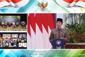 Presiden Resmikan Gerakan Nasional Wakaf Uang dan Brand Ekonomi Syariah