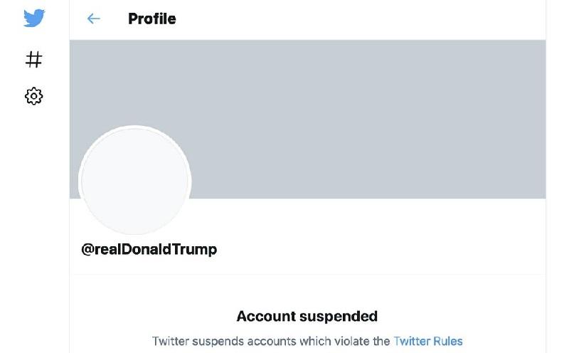 Glorifikasi Kekerasan, Twitter Setrap Akun Donald Trump