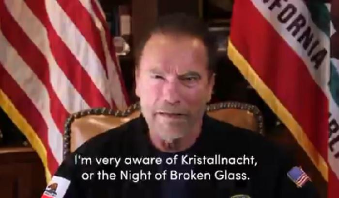 Arnold Schwarzenegger Samakan Penyerbuan Gedung Capitol dengan Kristallnacht