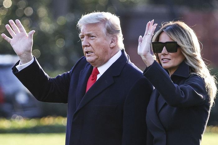 Donald dan Melania Trump