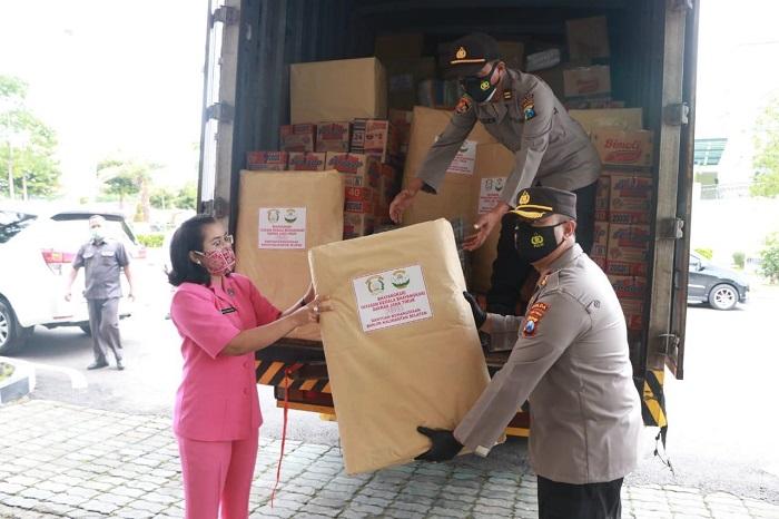 Pemberangkatan bantuan kemanusiaan ke Kalsel dan Sulbar