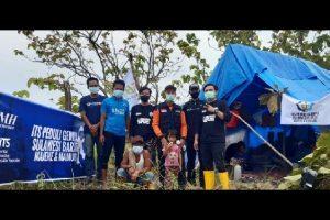 ITS Tanggap Bencana Gandeng BMH Kirimkan Bantuan untuk Korban Gempa Sulbar