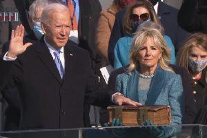 Dilantik Sebagai Presiden AS ke-46, Joe Biden Serukan Persatuan Nasional