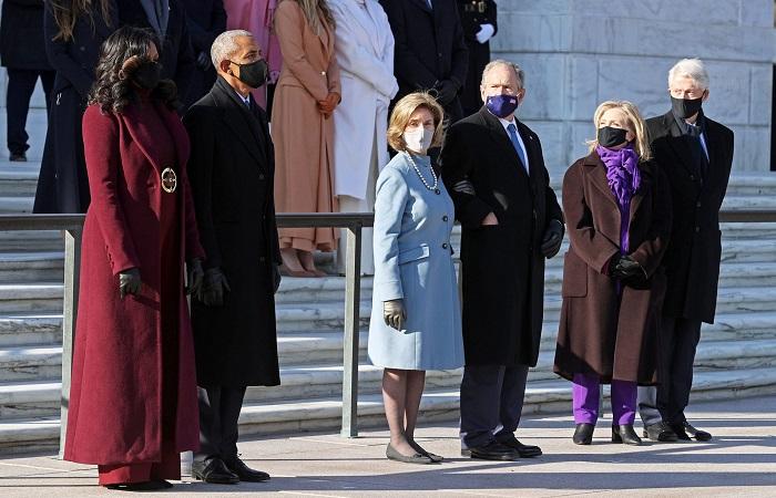 Para mantan Presiden AS hadiri pelantikan Joe Biden