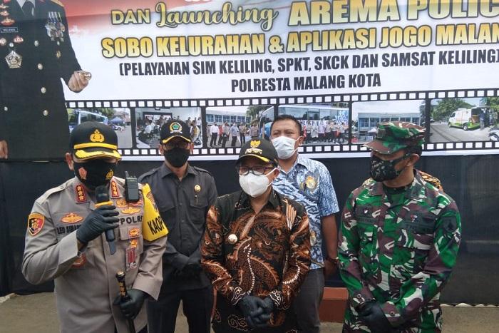 Lebih Dekat dengan Masyarakat, Polresta Malang Kota Hadirkan Pelayanan Arema Police Sobo Kelurahan