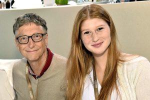 Kelakar Putri Bill Gates Usai Divaksin