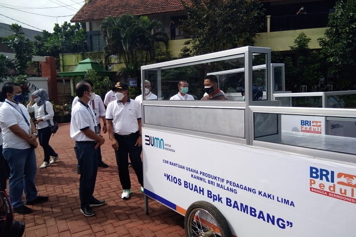 Walikota Malang Apresiasi 3 Program CSR BRI Malang