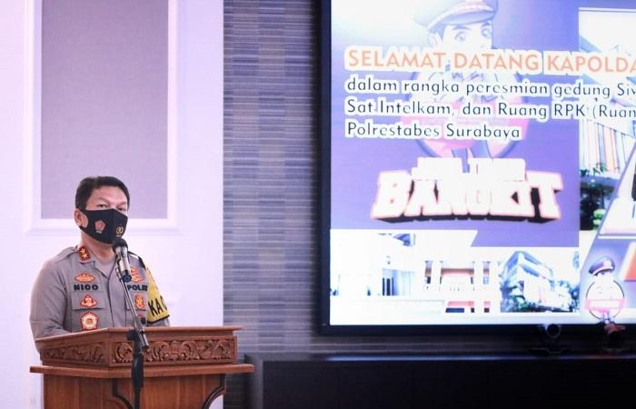 Resmikan 3 Gedung di Mapolrestabes Surabaya, Kapolda Ingatkan Pelayanan Harus Lebih Ditingkatkan