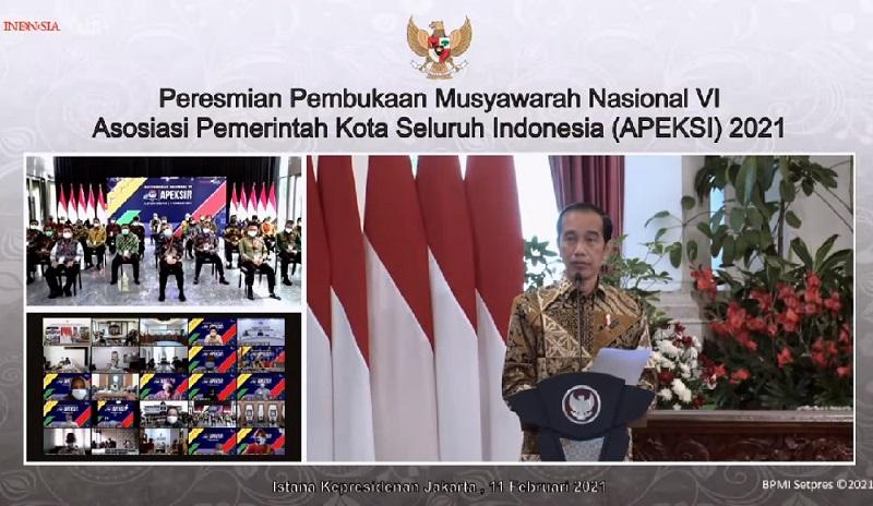 Presiden Minta Pemda Perbanyak Program Padat Karya
