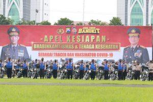 Polda Jatim Kerahkan 6.043 Personil Bhabinkamtibmas Bantu PPKM Mikro