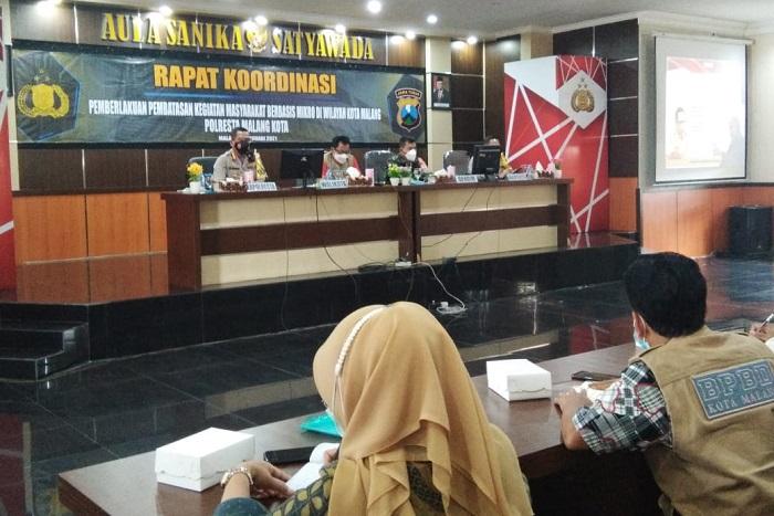PPKM Mikro di Kota Malang, Bentuk Posko Hingga Pasang Bendera Zonasi