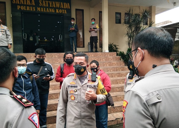 Kapolresta Malang Kota, Kombes Pol Leonardus Simarmata