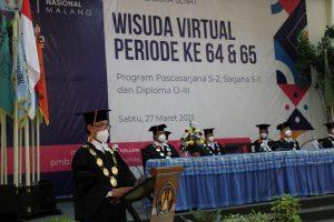 Gelar Wisuda Daring, ITN Malang Luluskan 885 Wisudawan