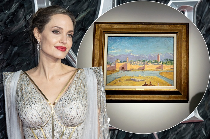 "Angelina Jolie dan ""Tower of the Koutoubia Mosque"" karya Churchill"