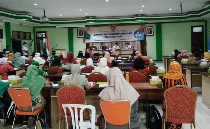 Walikota Malang : Pembelajaran STEAM, Latih Anak Berpikir Kritis