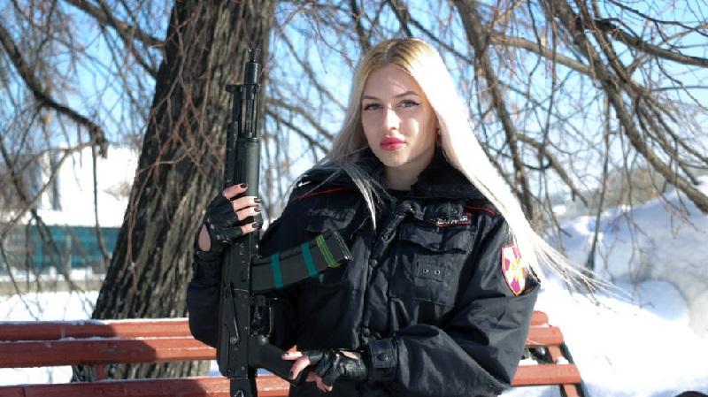 Mantan polwan tercantik Rusia