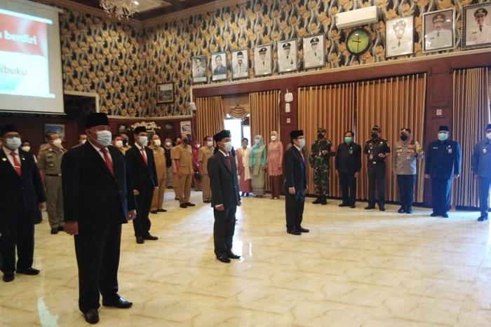 Walikota Malang Lantik 6 Jabatan Pimpinan Tinggi Pratama