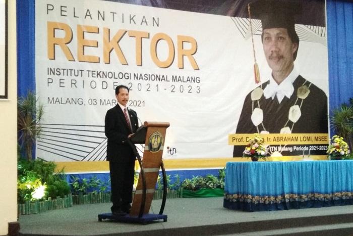Prof Abraham Lomi Kembali Pimpin ITN Malang