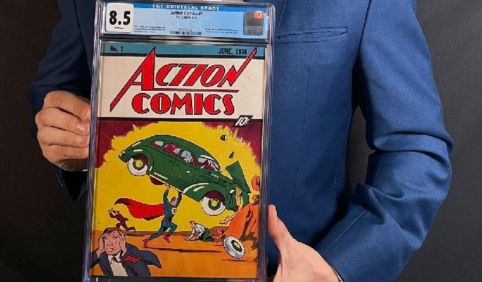 Komik Lawas Superman Terjual Rp 47 Milyar