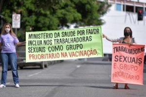 Alasan Sama-Sama di Garis Depan, Pelacur Brazil Minta Segera Divaksin