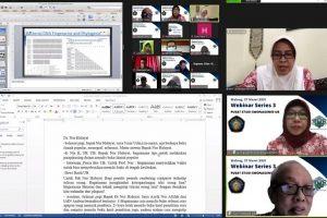 Lewat Webinar, PS SMONAGENES Beberkan Strategi Sukses Publikasi Ilmiah Internasional dan Menulis Buku Ilmiah Populer