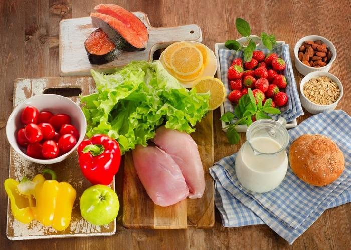 Makanan sehat bagi paruh baya