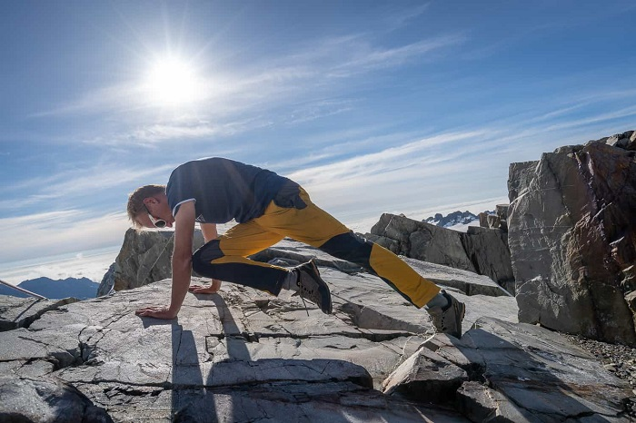 Olahraga sebelum mendaki gunung