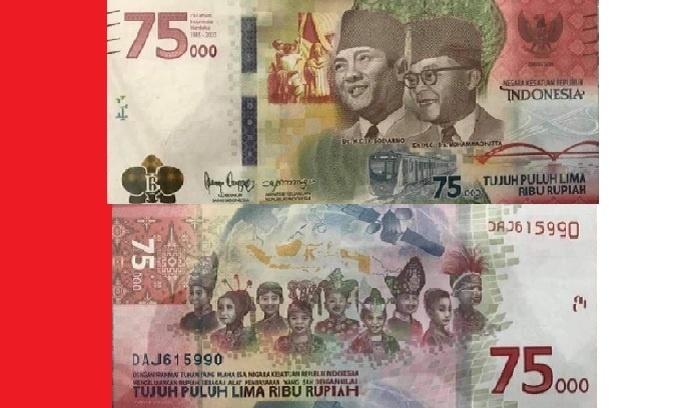 BI Buka Kesempatan Masyarakat Miliki Uang Pecahan Rp 75 ribu