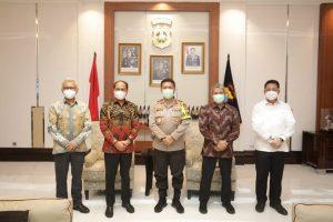 Jaga Stok dan Stabilitas Harga Semen di Jatim, Polda Jatim Siap Kerjasama dengan PT Semen Indonesia