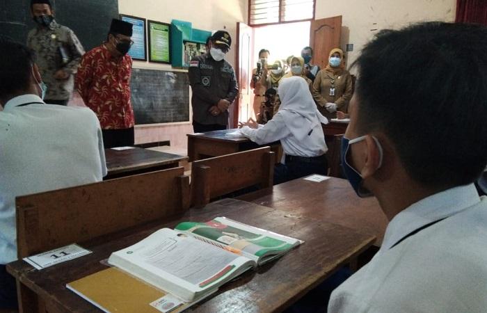 Pembelajaran Tatap Muka Kembali Dilaksanakan, Walikota Malang Tekankan Penerapan Prokes
