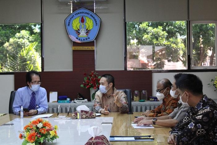 Pertemuan ITN dengan pengelola KEK Singhasari