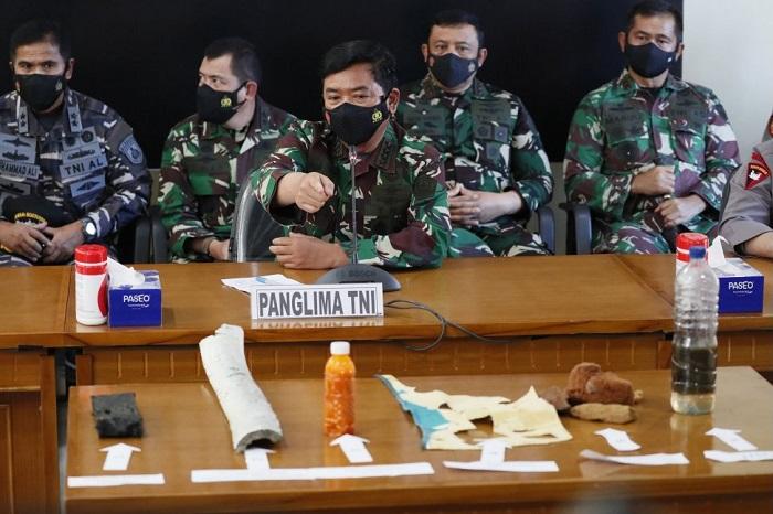 Konferensi Pers Panglima TNI soal KRI Nanggala 402
