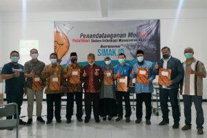 Terapkan Aplikasi Simak.id, F-One Tandantangani Kerjasama dengan SMP Muhammadiyah 8 Batu