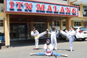 UKM Taekwondo ITN Borong Enam Medali di Kejuaraan Nasional