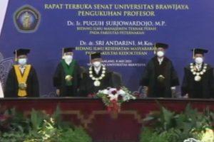 Prof. Puguh Manfaatkan Ekstrak Herbal untuk Pencegahan Mastitis Pada Sapi Perah