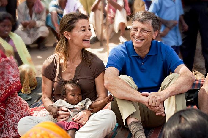 Bill & Melinda Gates dermawan