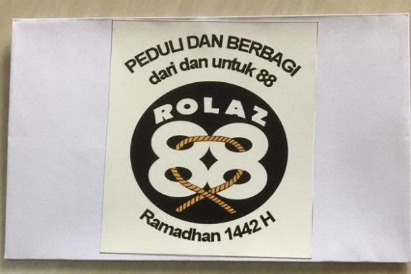 "Berkah Ramadhan dan Sambut Idul Fitri, Alumni Rolas 88 ""Peduli dan Berbagi, dari dan untuk Alumni"""