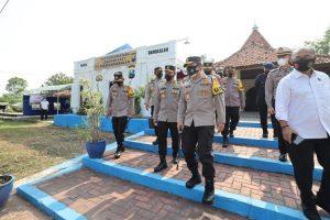118 Personil Gabungan Disiagakan di Pos Pengamanan Lebaran 2021 di Bangkalan Madura