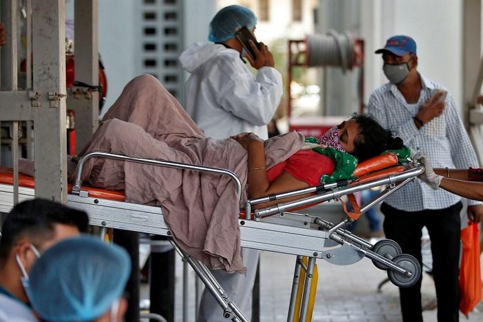 Dalam 24 Jam India Catat Lebih Dari 4.000 Kematian Akibat Virus Corona