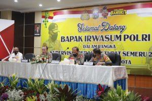 Tim Supervisi Mabes Polri Beri Pengarahan SOP Prokes ke Kapolres Se-Malang Raya