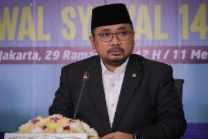 Menag: Idul Fitri Saat Pandemi Makin Perkuat Nilai Kemanusiaan