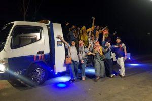 Niat Pelesiran, Pulang-Pulang Mobil Malah Diangkut Towing