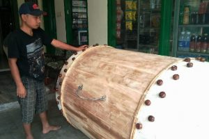 Perajin Bedug Kota Malang Tetap Eksis di Tengah Perkembangan Jaman