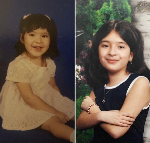 Alyss dan Victoria saat masih kecil