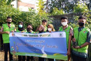Peringati Hari Lingkungan Hidup, Siswa SMKN 6 Malang Tanam Pohon Pulai