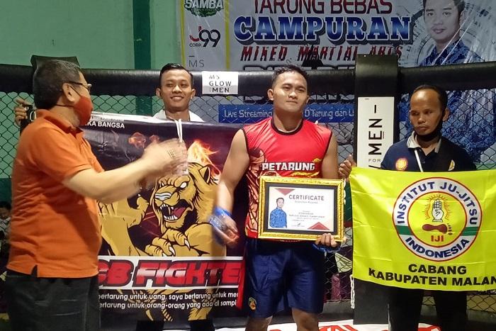 Atlet Jujitsu ITN Malang Juarai Ajang MMA di Probolinggo